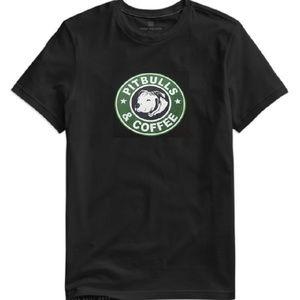 Tops - Pitbulls and Coffee Tee